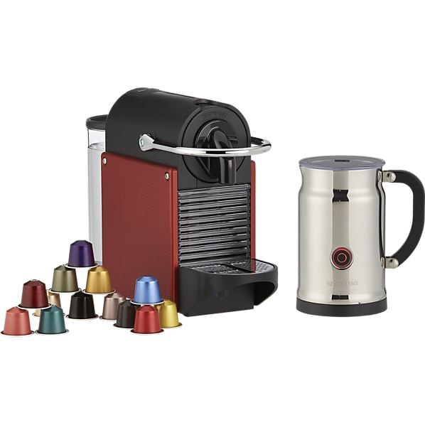 Nespresso Pixie Espresso Maker w/ Aeroccino Frother Bundle  $139.50 + Free Shipping
