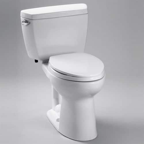 ToTo Drake 2-Piece Toilets: 1.28GPF Elongated $170 or 1.6GPF Round  $160.75 & More + Free Shipping