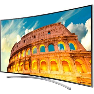 "55"" Samsung UN55H8000  240Hz 3D Smart Curved LED HDTV  $1049 + Free Shipping"
