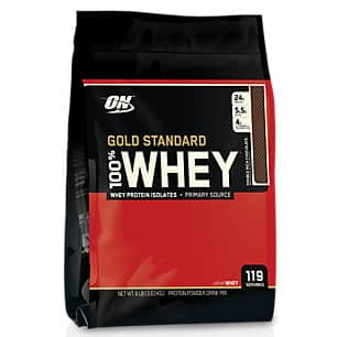 8lbs Optimum Nutrition Gold Standard 100% Whey Protein Powder (Double Rich Chocolate) $69.99 + Free Shipping
