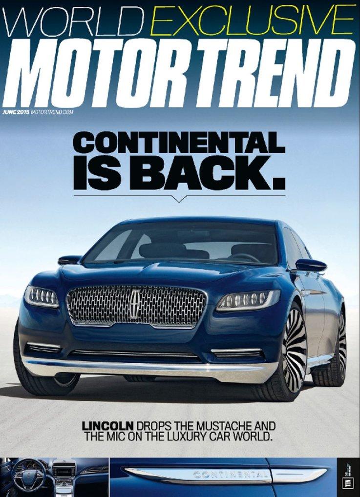 4-Years of Motor Trend Magazine  $12