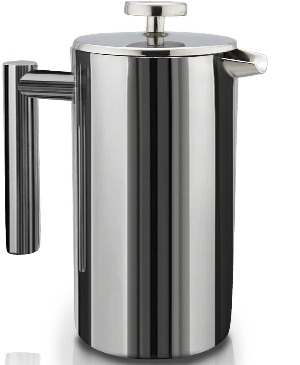 SterlingPro Double Wall Stainless Steel French Coffee Press, 1 Liter for $9.95!!! F/S with Amazon Prime!! Originally $46.85