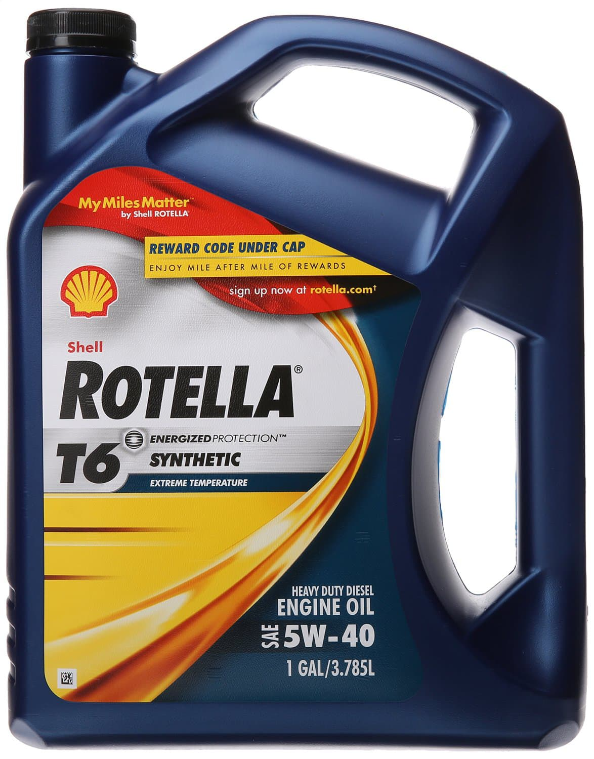 Rotella T6 5W-40 Full Synthetic, Heavy Duty Diesel Engine Oil (CJ-4) - 1 Gallon $16.63 fs / w/S&S@ amazon - $5 MIR= $11.63!!