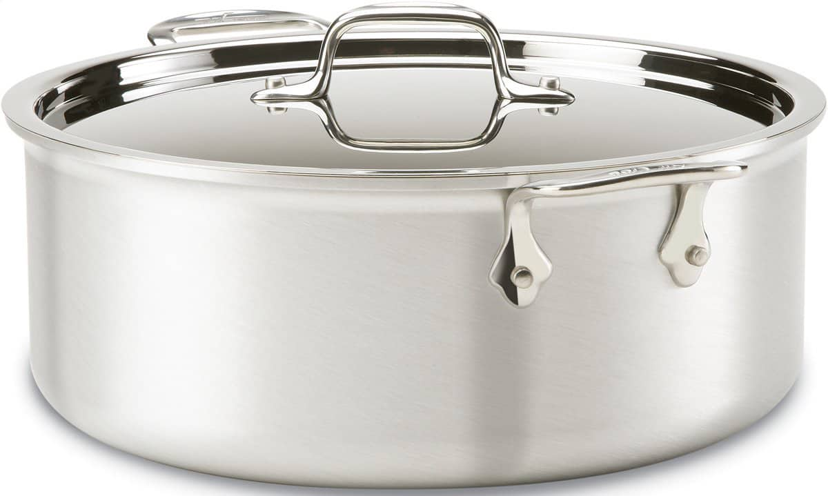 All-Clad Seconds Sale: All-Clad 8-Quart Stainless Stockpot w/ Lid  $90 & More + $6 Flat-Rate Shipping