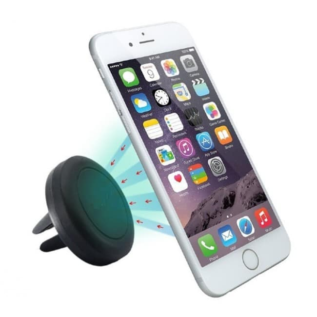 Universal Magnetic Car Vent Mount Holder for Smartphones (Black) $4 + Free Shipping