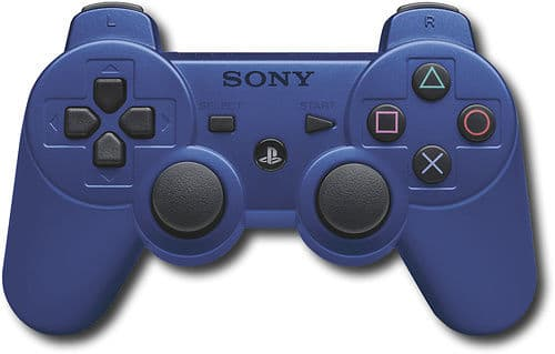 Sony DualShock 3 Wireless Controller for PlayStation 3 (Blue)  $10 + Free Store Pickup