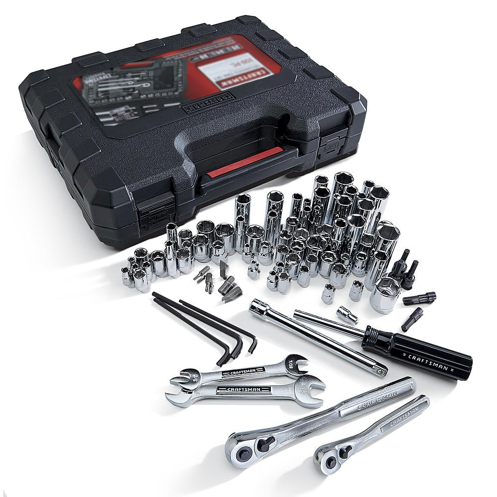 108-Piece Craftsman Mechanics Tools Set  $38.50 + Free Store Pickup