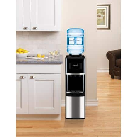 Primo Top-Load Water Dispenser (Stainless Steel/Black)  $66.75 & More + Free S&H