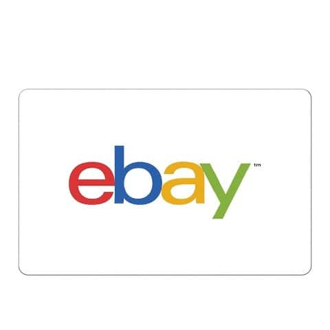 eBay Gift Cards: $100 Gift Card $95, $50 Gift Card  $47.50 (Digital Delivery)