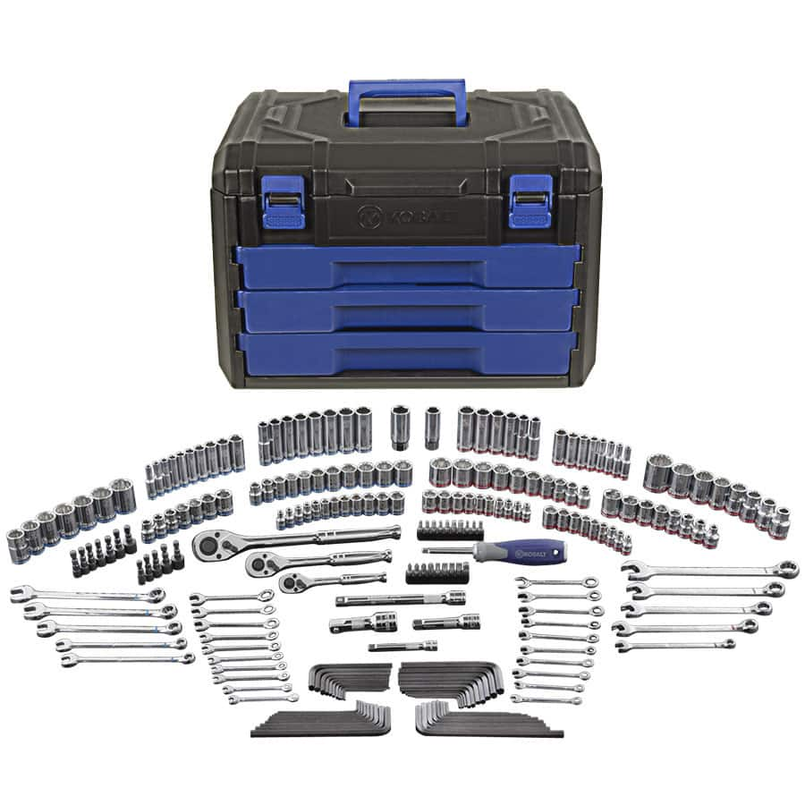 LOWES - Kobalt 227-Piece Standard and Metric Tool Set with Hard Case - $99 or less, YMMV