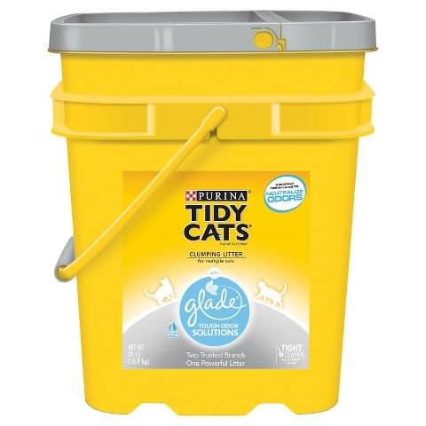 6x 35-lb. Purina Tidy Cats Clumping Cat Litter + $15 Target Gift Card  $57 + Free Store Pickup