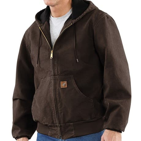 Men's Carhartt Sandstone Active Jacket (Washed Duck)  $40 + Free Shipping