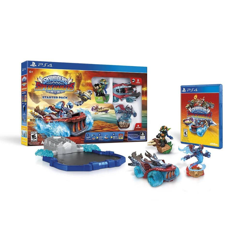 Toys R Us: Skylanders SuperChargers Starter Pack for $39.99 + free figure