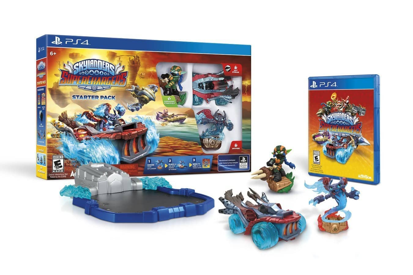 Skylanders SuperChargers Starter Pack (PS4, Xbox One, Wii U, PS3, Xbox 360)  $34
