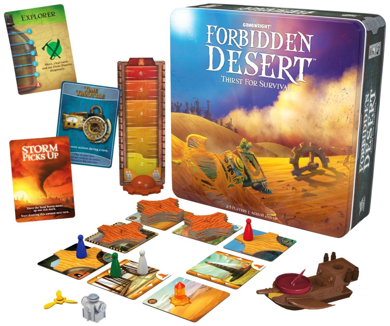 Board Games: Dominion Intrigue $25, Bora Bora Strategy $23, Forbidden Desert  $16.40 & More