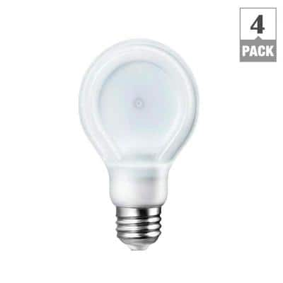 4-Pack Philips A19 Dimmable LED Light Bulbs: 5000K $16, 2700K  $14.25 & More + Free S&H