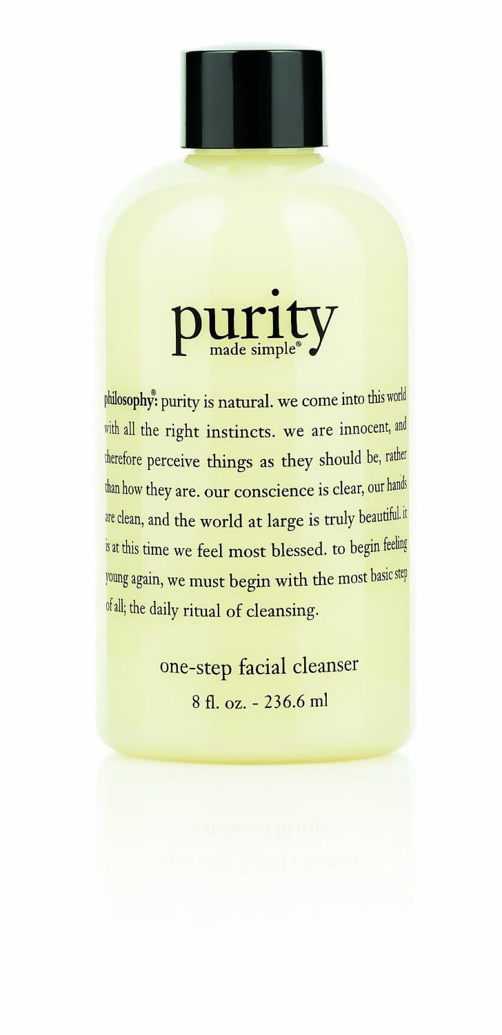 Philosophy Purity Made One-Step Facial Cleanser + 3 Samples  $7