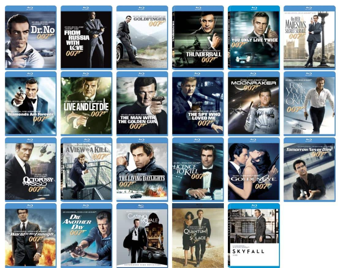 ****The Daniel Craig 4-Film Collection*** Pre-order James Bond Collection (Blu-ray) $49.99 @ Best Buy
