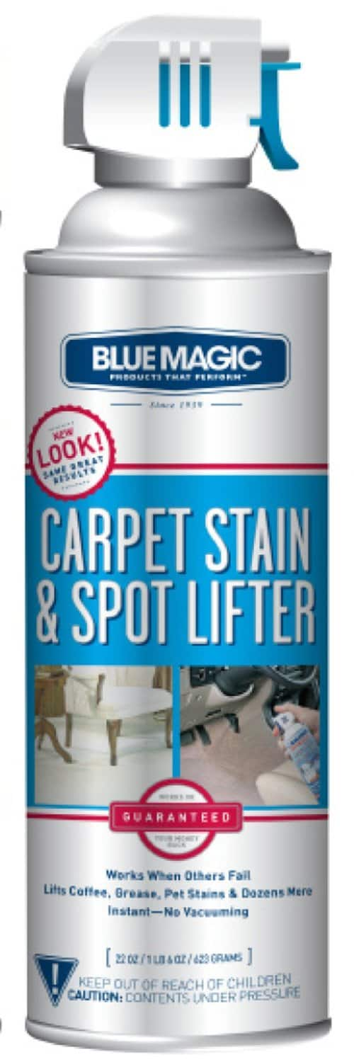 BlueMagic 900 Carpet Stain & Spot Lifter (22oz) for $3.88 with free shipping via S&S at Amazon