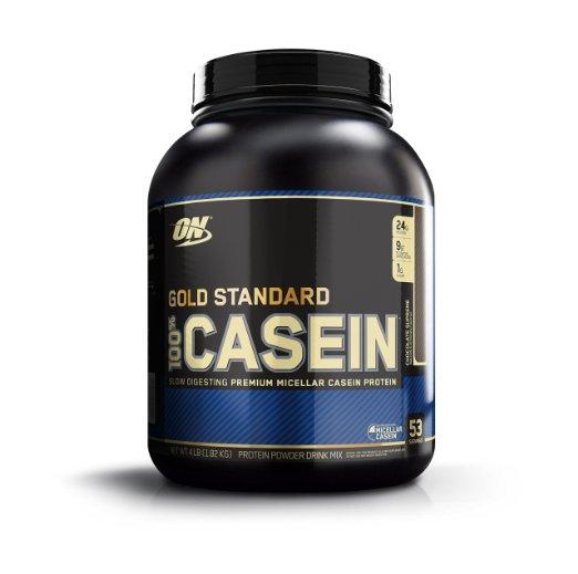ON Optimum Nutrition 100% Casein Protein 4 LB Chocolate $37.63 @ Amazon