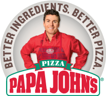 50% off large and xtra large pizza @ papa johns
