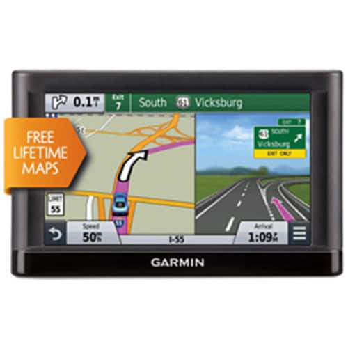 "Garmin Nuvi 65LM 6"" GPS Navigator w/ Turn-By-Turn Direction & Lifetime Maps  $100 + Free Shipping"