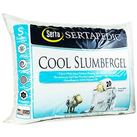 Serta CoolGel Pillow, White, Set of 2 Walmart pick up Only King sz $10.96