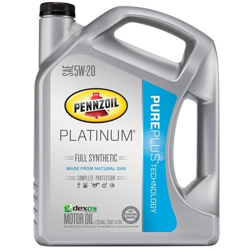 IT'S BACK - Pennzoil Platinum 5W-20 Full Synthetic Motor Oil API GF-5 - 5 Quart Jug - $14.97 after $10 rebate