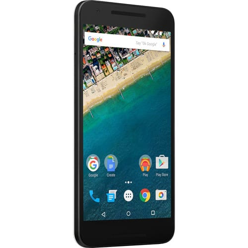 LG Google Nexus 5X 32GB Smartphone (Unlocked, White) $299 ac + FS