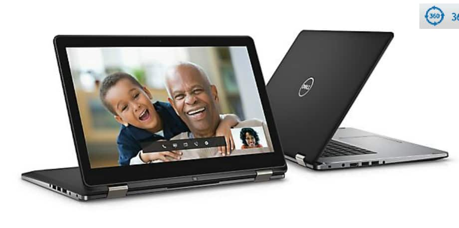 Dell Inspiron 15 7000 2-in-1 Touch Laptop: i3-6100U, 4GB DDR3, 500GB HDD, Win 10  $249 + Free Shipping