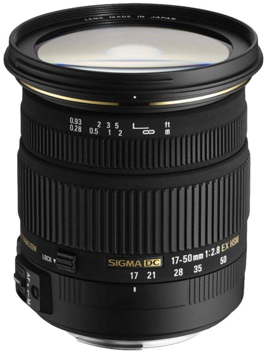 Sigma 17-50mm f/2.8 EX DC OS HSM FLD Lens (various mounts) - $219 @ Amazon