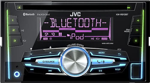 Best Buy - JVC Double Din CD Receiver w/ Built in Bluetooth $75 + Free Shipping