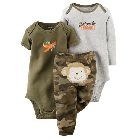 Carter's Baby Bodysuit Set Sale: 4-Piece $7.80 or 3-Piece  $6.60 + Free S&H Orders $50+