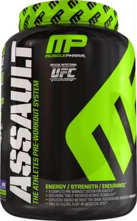 3x MusclePharm Assault Pre-Workout Powder (90 Servings in Various Flavors) $27.75 + S/H