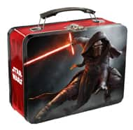 Star Wars: Kylo Ren Tin Lunchbox or Droids/Stormtrooper Tote Bags  $1 + Free Store Pickup