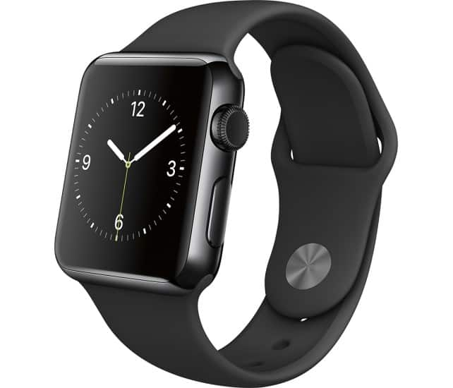 Apple SmartWatch w/ Space Black Stainless Steel Case: 42mm $399, 38mm $349 & More + Free Shipping