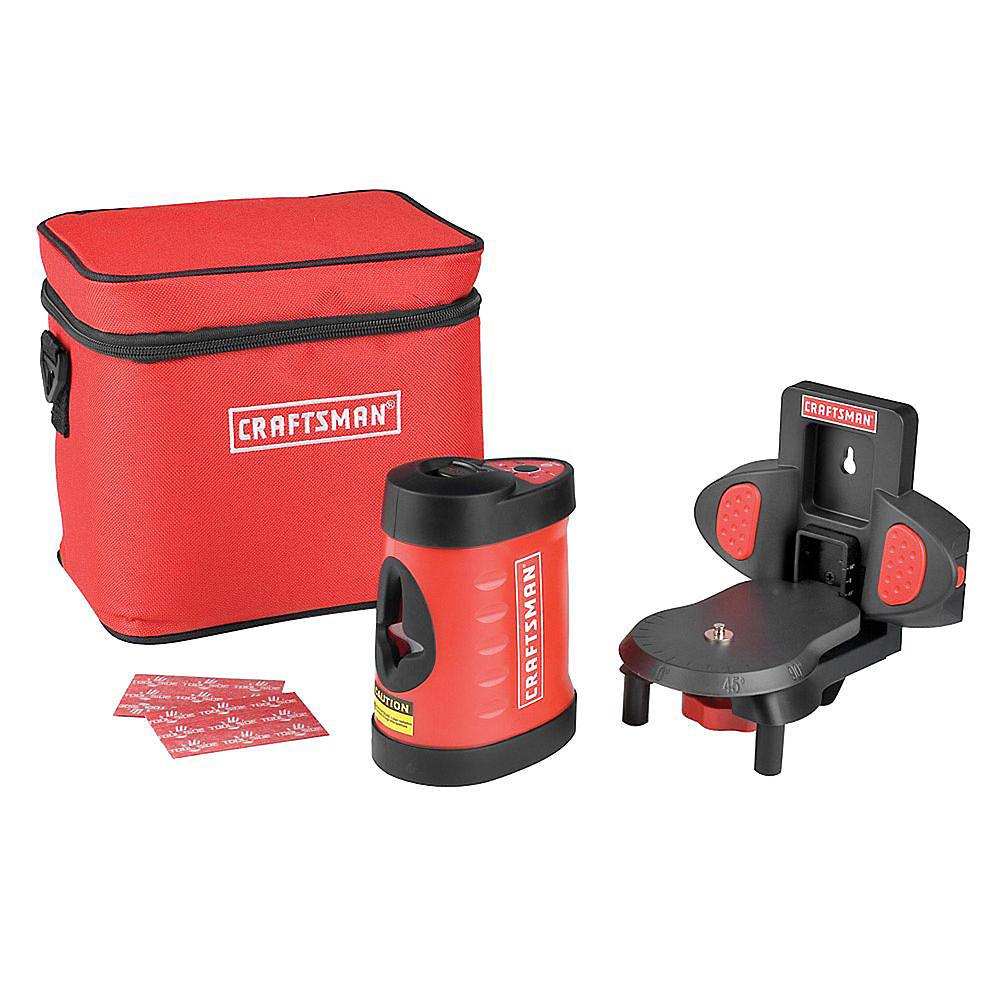 Craftsman 2-Beam Self-Leveling Laser Level $49.99 + Free Shipping