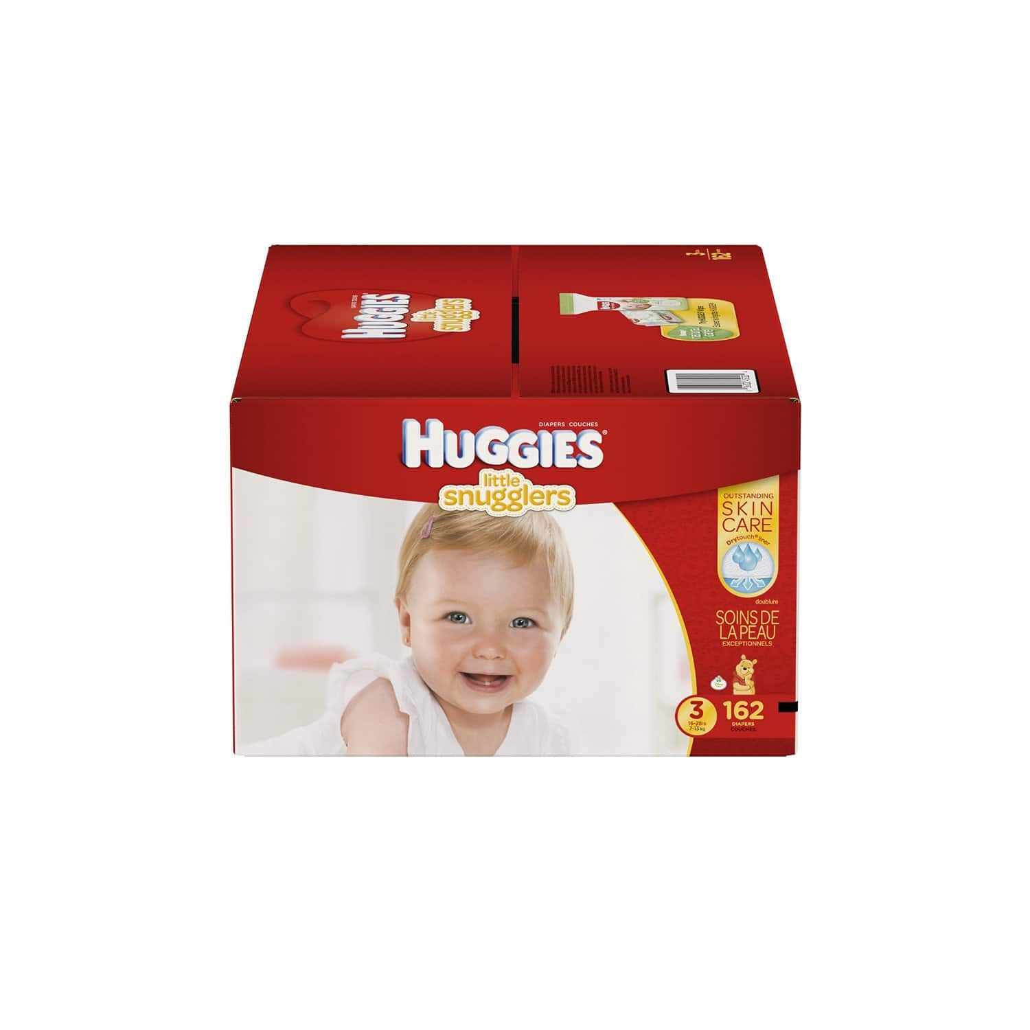 Huggies Diapers (Little Snugglers, Snug & Dry or Little Movers) 5% Off +  30% Off + Free Shipping