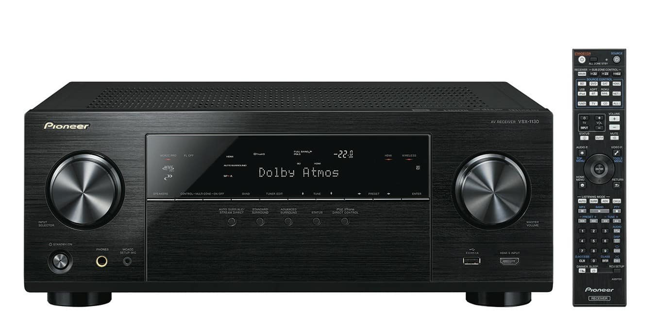 Pioneer 5.2-Channel 4K/3D Home Theater Receiver for $240 + FS @Bestbuy