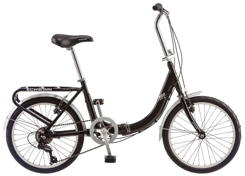 "Schwinn 20"" Loop Folding Bike (Black)  $153 + Free Shipping"