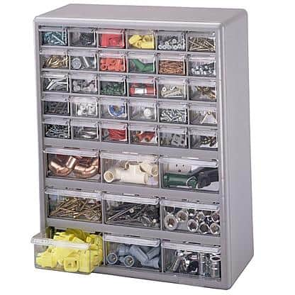 39-Drawer Stack-On Organizer Cabinet  $14 + Free Store Pickup