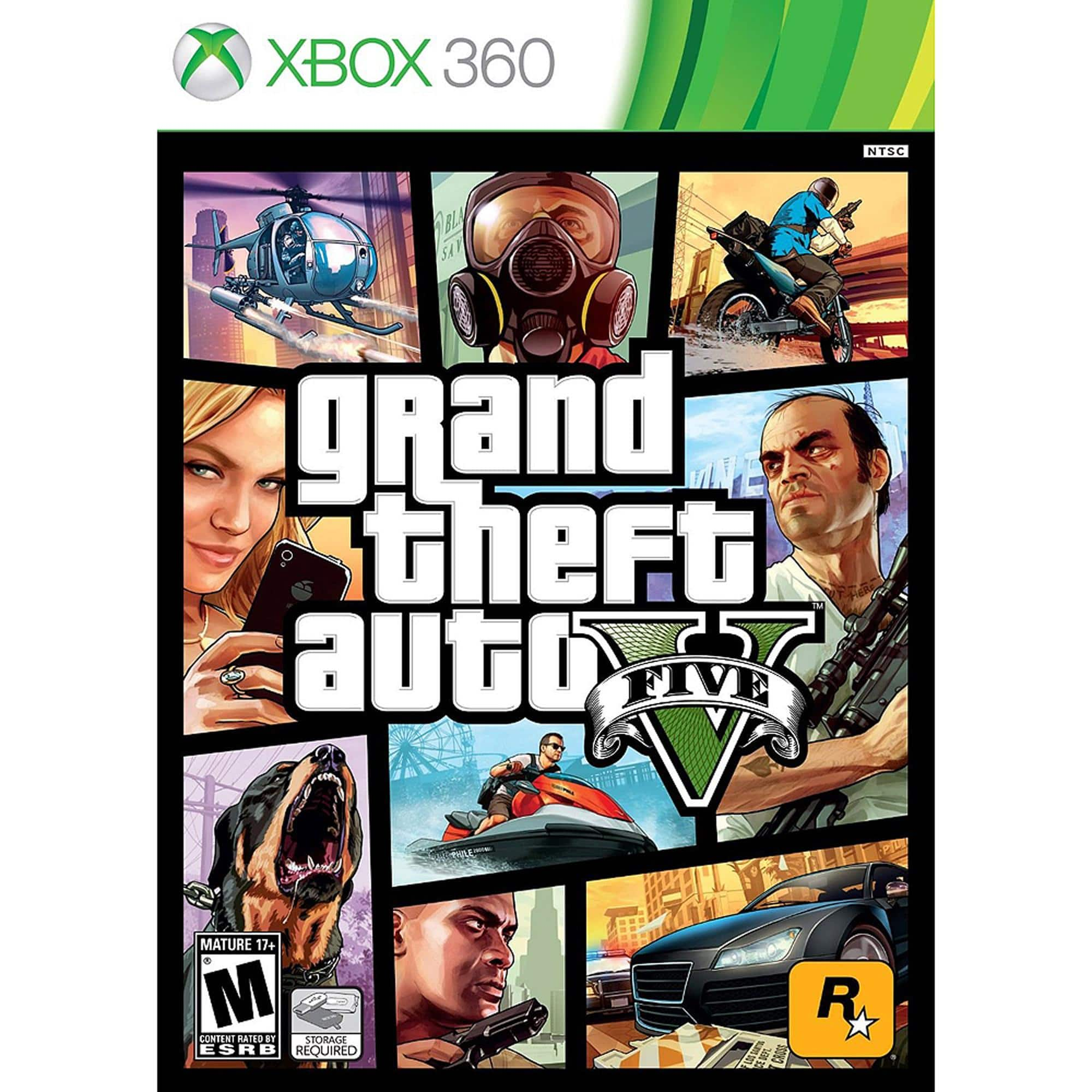 Grand Theft Auto V for Xbox 360 & PS3 used at Walmart $11.88 free instore pickup
