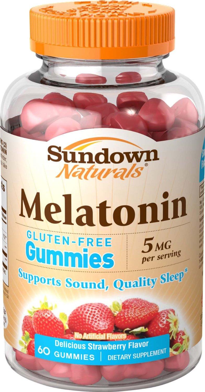 Sundown Naturals Melatonin 5 mg, 60 Gummies - $1.09 or Less w/S&S