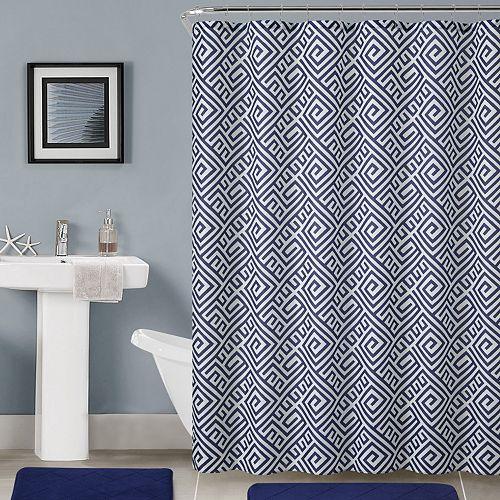 Kohls Cardholders: VCNY Bathroom Shower Curtain Set (various designs)  $14 + Free Shipping