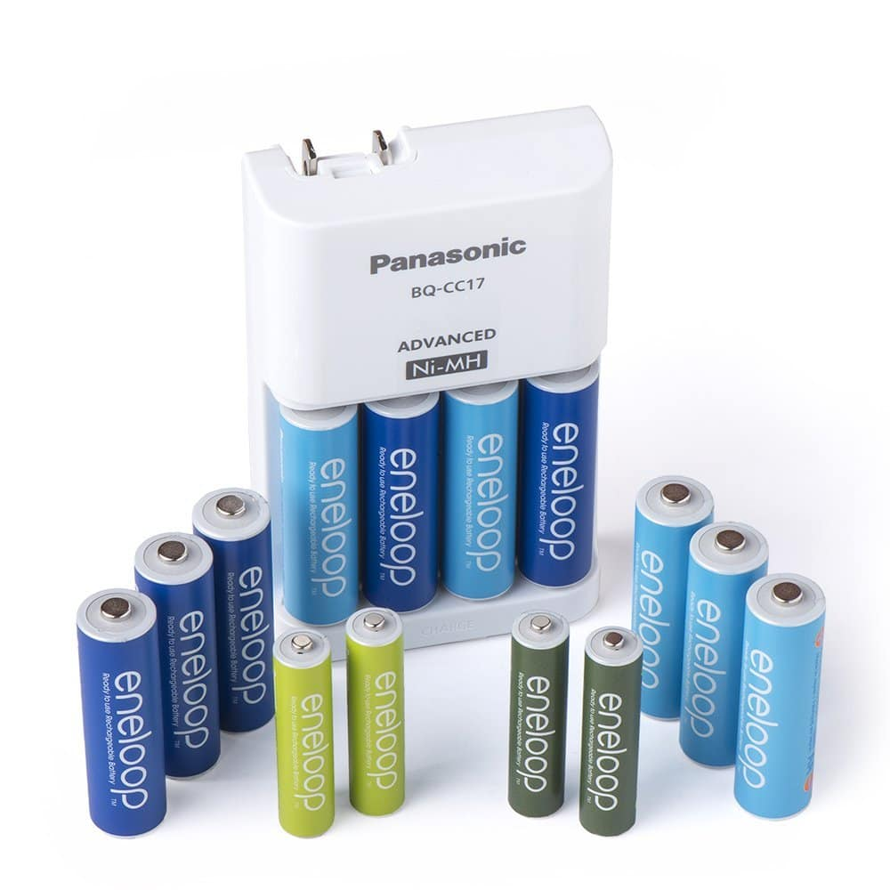Panasonic Eneloop Power Pack: 10x AA + 4x AAA 1900mAh Ni-Mh Pre-Charged Rechargeable Batteries w/ Charger $25.99 via Amazon