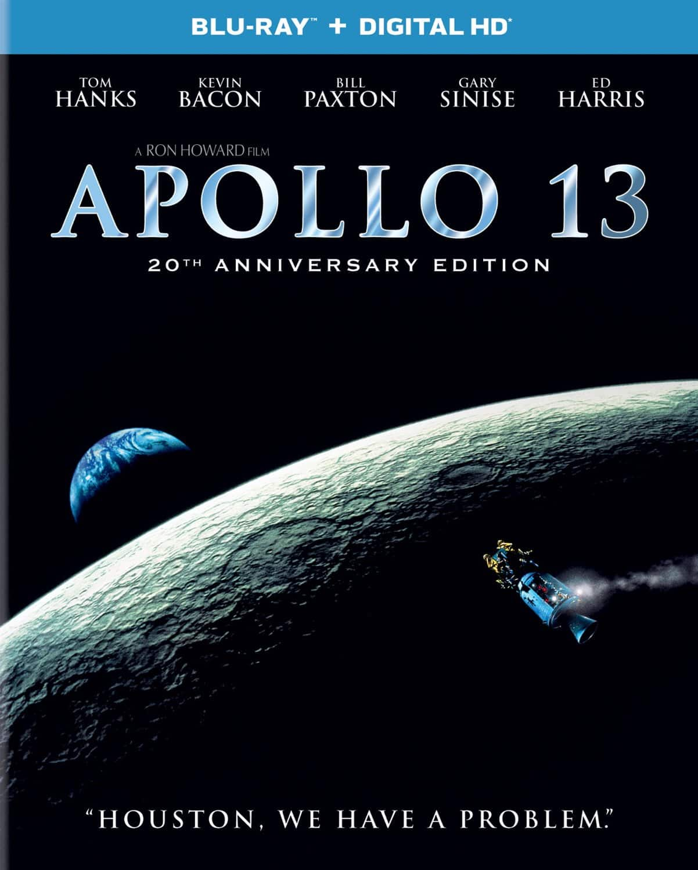 Apollo 13: 20th Anniversary Edition (Blu-ray + Digital HD)  $8 + Free Store Pickup