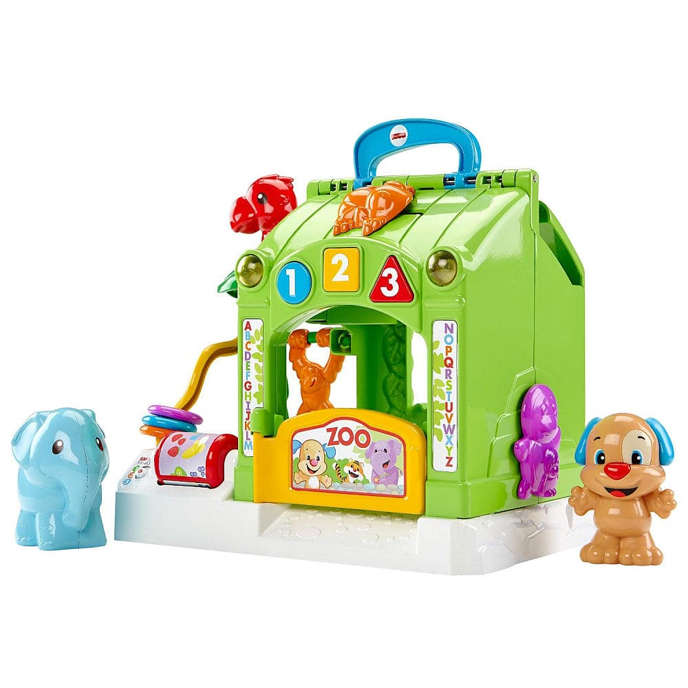 Fisher-Price Laugh & Learn Smart Stages: Activity Zoo $12.49, Puppy Push Car Toy $9.99 + Free In-Store Pickup or w/ Shoprunner