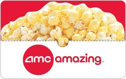 Gift Cards: $25 AMC Theatres Gift Card + $5 Bonus Code  $25 & More (Digital Delivery)