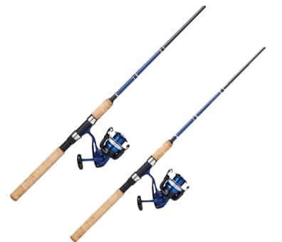 Daiwa Samurai X Spinning Fishing Rod & Reel Combo  2 for $30 + Free Shipping