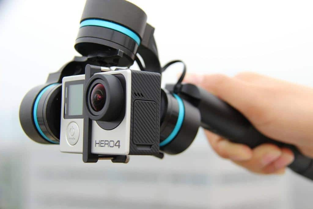 GVB 3-Axis Handheld Gimbal for GoPro Cameras $149 w/ FS